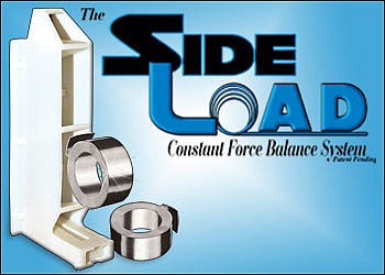 Side Load, wood sash, balance, balance system, constant force, coil, balance, wood window sash, John Evans, AAMA