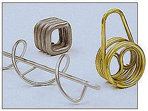 John Evans, springs, wireform, custom manufacturer, P.O.P., custom wire forms,