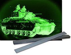 Torsion Leaf Springs with army tank
