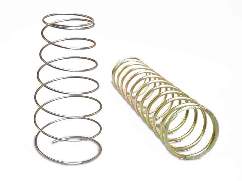 Pair of large Helical Springs