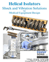 Helical Vibration isolators for medical designers data brochure