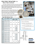 Medical counterbalance spring reel data sheet