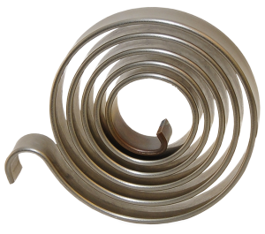 side view of spiral torsion spring
