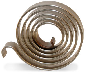 Spiral Torsion Spring side view