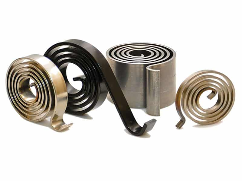 Various Spiral Torsion Springs