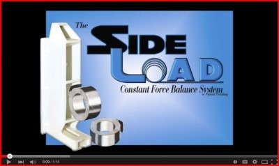 SideLoad constant force balance system demo video