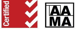 AAMA, ISO 9001:2008 and ISO 13485:2003 Certified