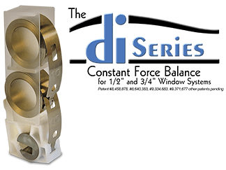 drop-in series constant force balance system logo & graphic