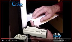 SideLoad Balance Sash Guides & NEW Sash Cam Demo
