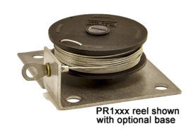 metal base 1 inch reel