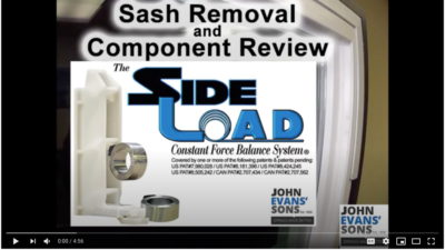 SideLoad says removal video title screen